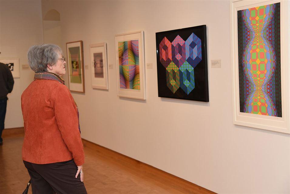نمایش آثار ویکتور وازارلی در موزه هنر Leigh Yawkey Woodson