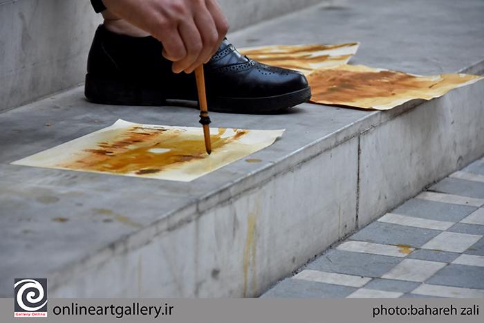 ورکشاپ یک روزه هنرمندان نوگرای البرز در موسسه صبا