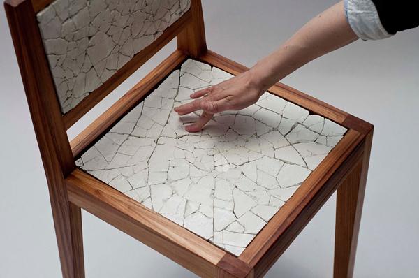 طراحی صندلی با نشیمن گاهی سورئال