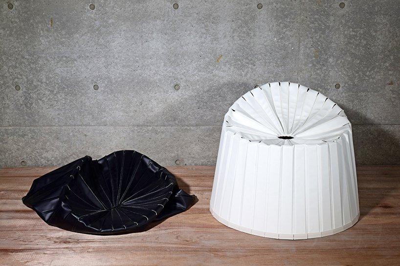 گزارش تصویری طراحی صندلی با قابلیت تغییر به ساختار پاییدار
