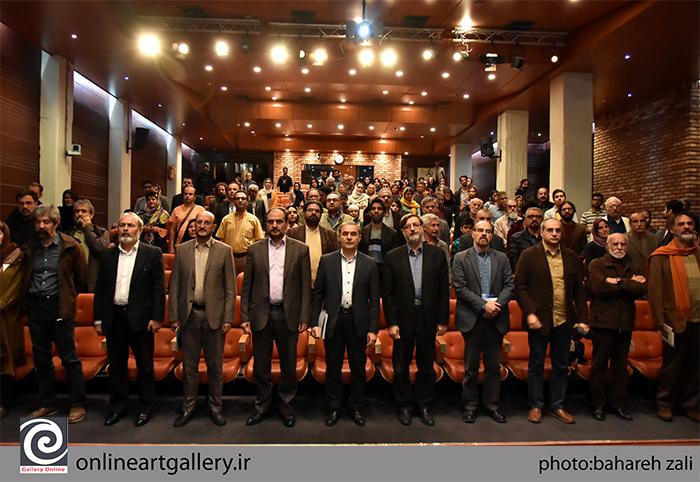 گزارش تصویری نشست نقد و بررسی آثار هادی ضیاءالدینی در فرهنگستان هنر