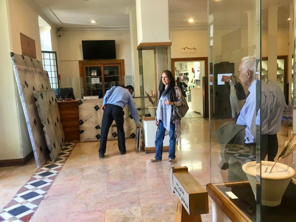 پروژه ساماندهی مجموعه آثار هنری بانو زنده یاد منیژه میرعمادی- دکتر جمشید ناصری