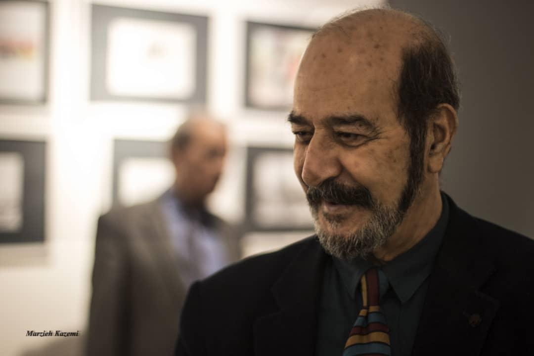 گزارش تصویری نمایشگاه آثار محمود تیمورپور در گالری نگر