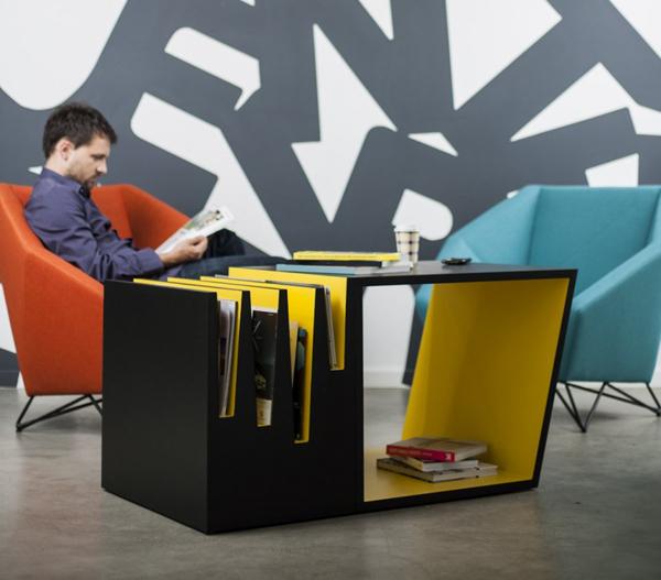 خلاقیت در طراحی میز قهوه خوری