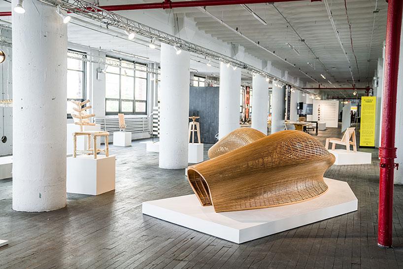 طراحان بروکلین نشان دادند که میتوانند هر طرح دلخواهی را با چوب پیادهسازی کنند