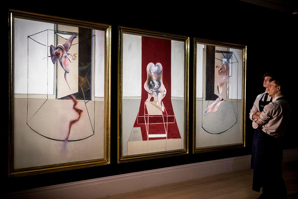 اثر فرانسیس بیکن با قیمت 84.6 میلیون دلار در حراج زنده آنلاین Sotheby به فروش رسید