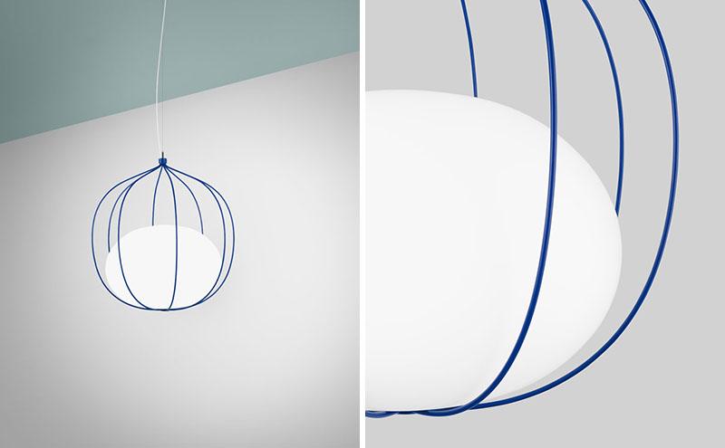 """طراحی چراغی به اسم """"Hoop"""""""
