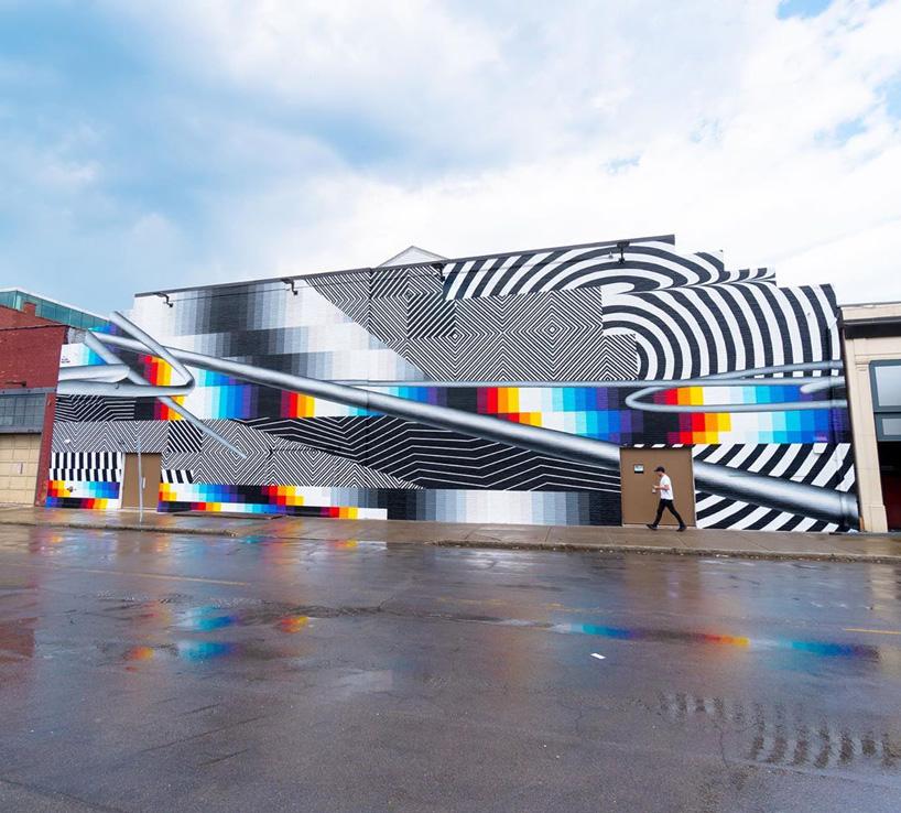 نگاهی بر نقاشی دیواری سالن کنسرت نیویورک