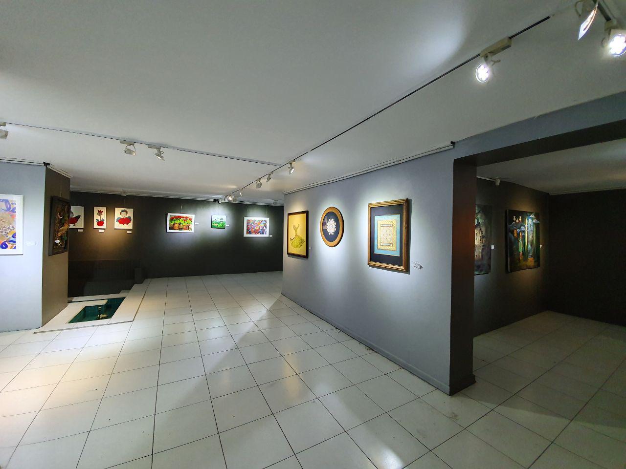 """گزارش تصویری نمایشگاه """"بومرنگ"""" در گالری صا"""