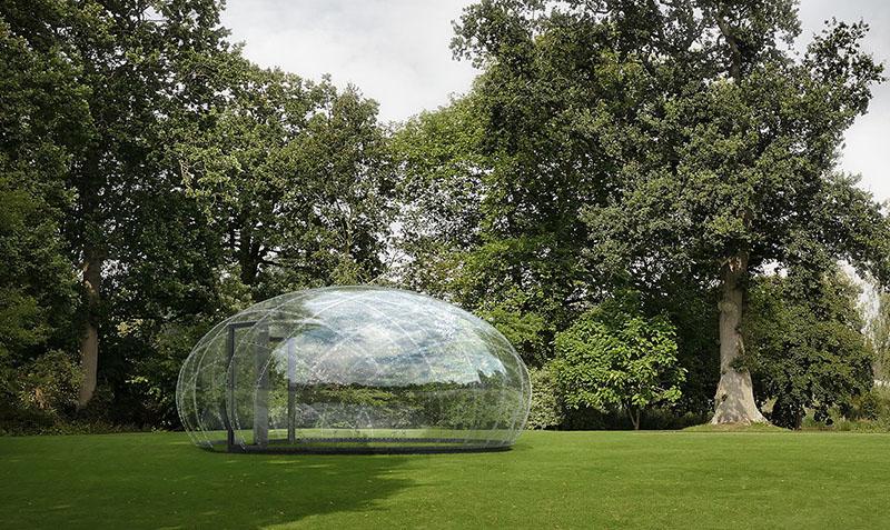 طراحی فضای باز ملهم از قطره آب