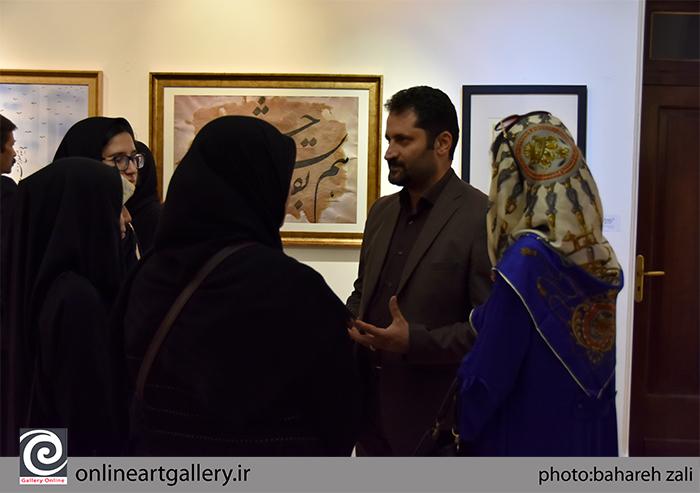 """گزارش تصویری نمایشگاه """"تجلی خط هرات در تهران"""" در موسسه صبا (بخش دوم)"""
