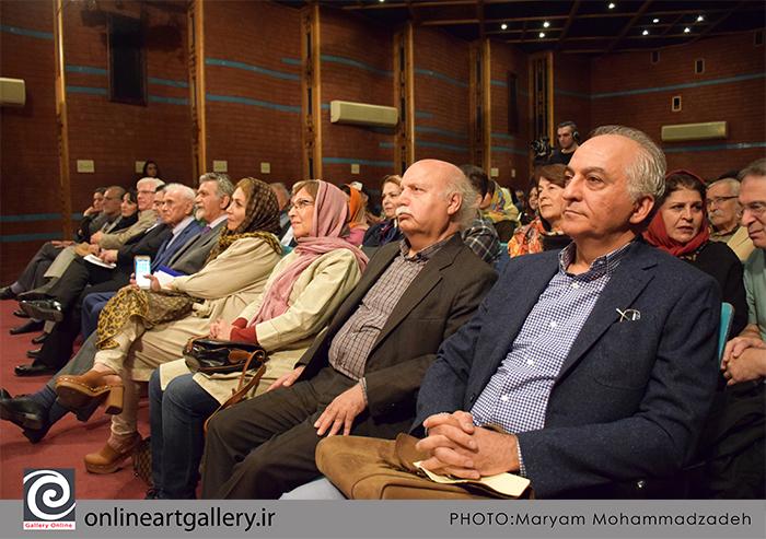 گزارش تصویری مراسم افتتاحیه هفته تصویرگری ۹۸ و اهدا نشان آبان