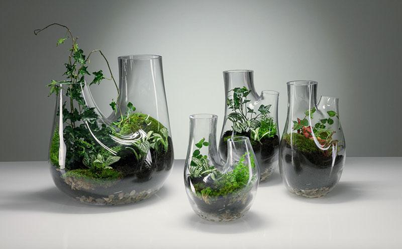 طراحی گلخانهی کوچک در دکوراسیون منزل