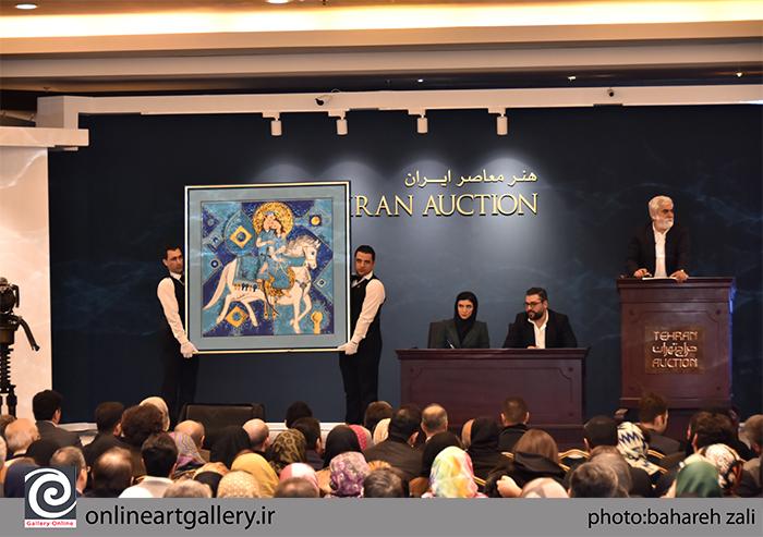 سیزدهمین حراج تهران بدون میهمان برگزار می شود
