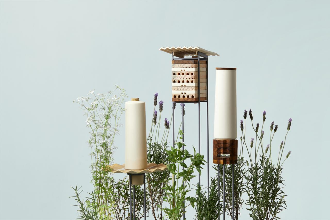 طراحی خانه ای برای زندگی زنبورهای گوشهنشین شهری