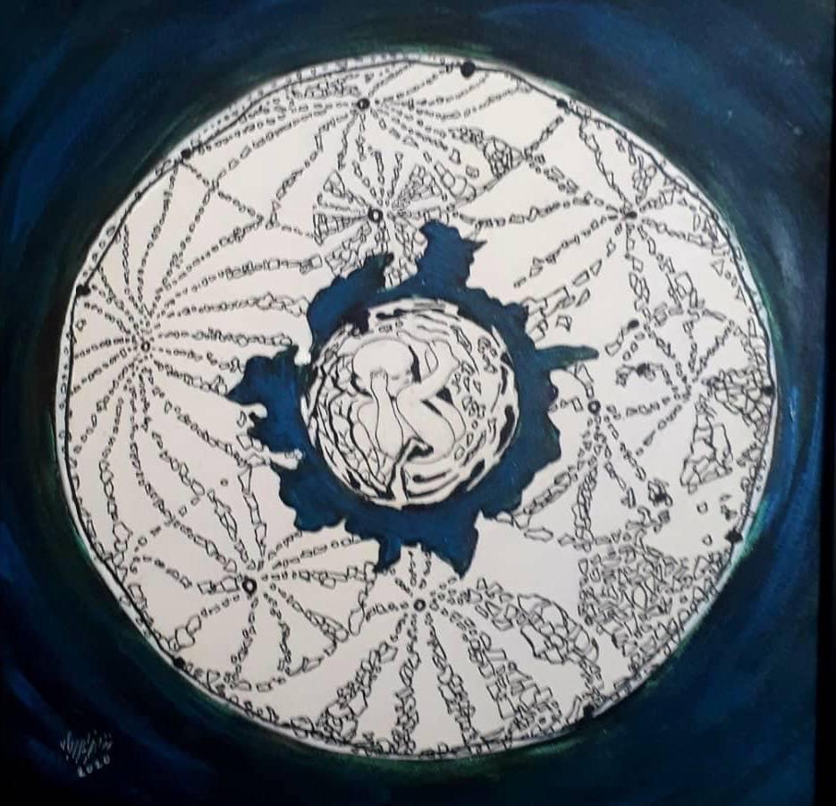 """""""ما بین رنگ و رو"""" در گالری احسان   نمایشی از کنکاش درونی هنرمند در قرنطینه"""