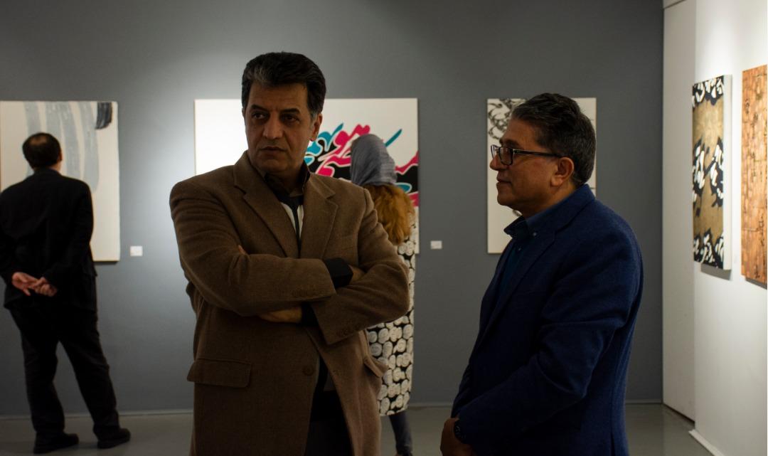 """گزارش تصویری نمایشگاه """"پشت بوم"""" در گالری گویا"""