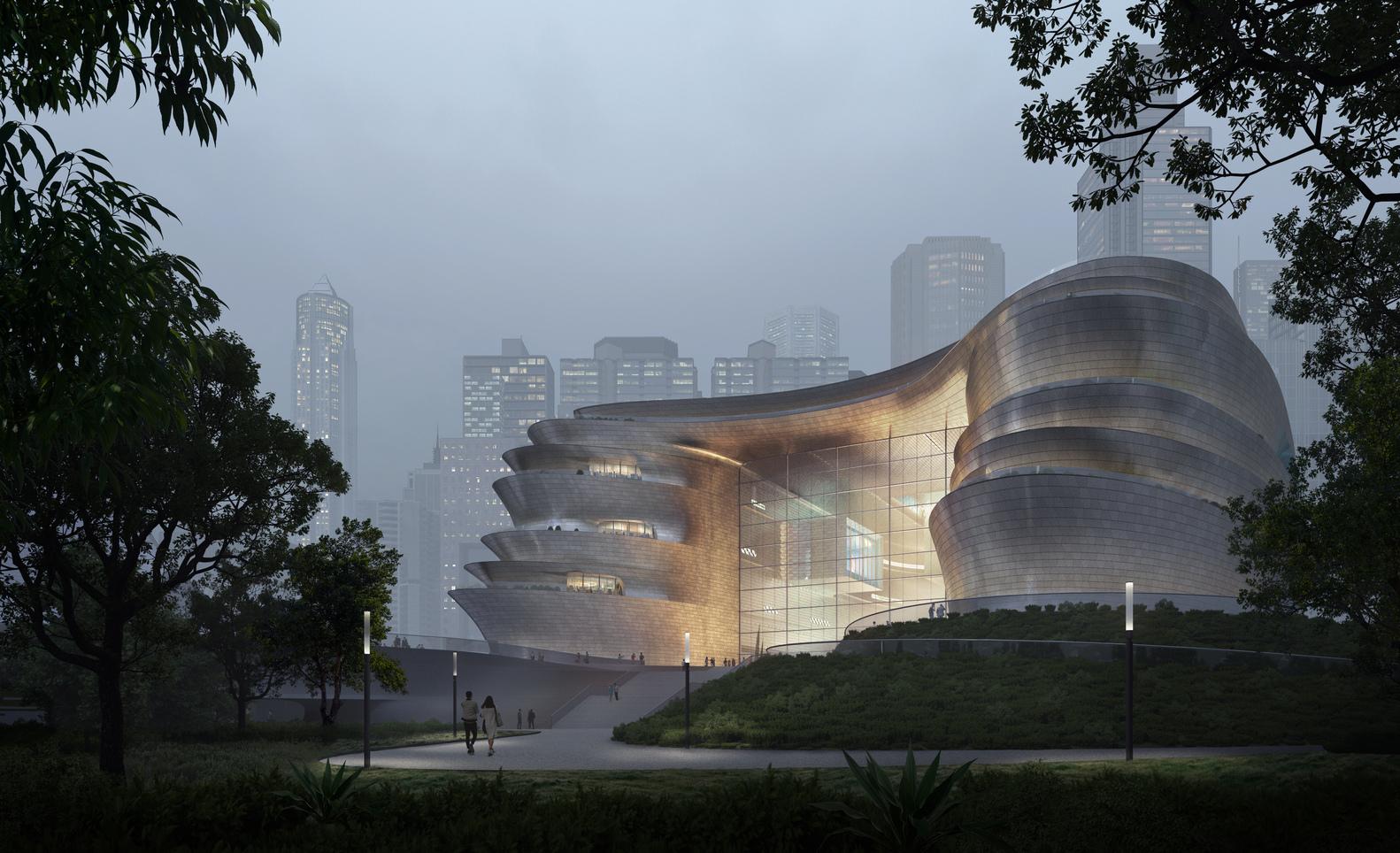 معماران Zaha Hadid از موزه علوم و فناوری جدید شنژن رونمایی کردند