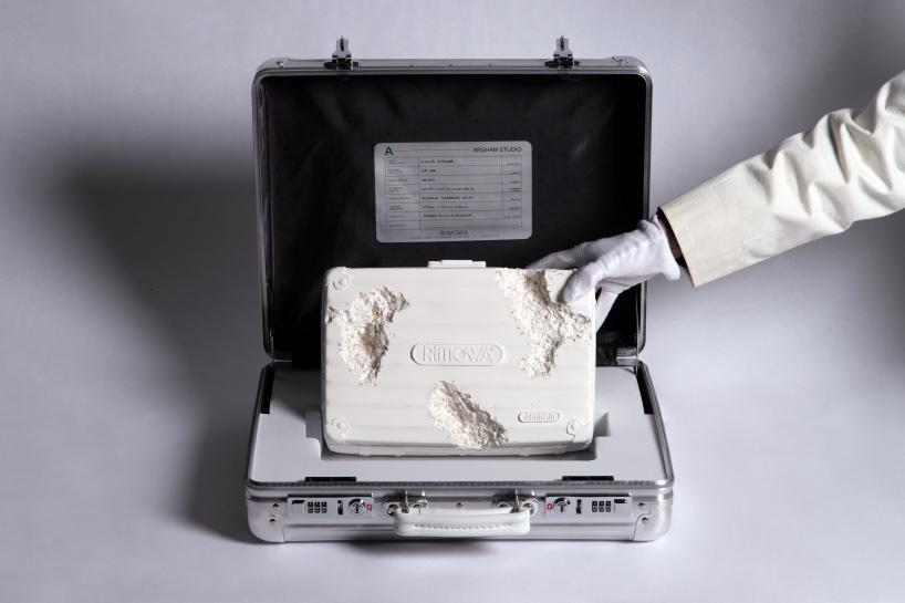 محصول جدیدی از چمدانهای مشهور daniel arsham