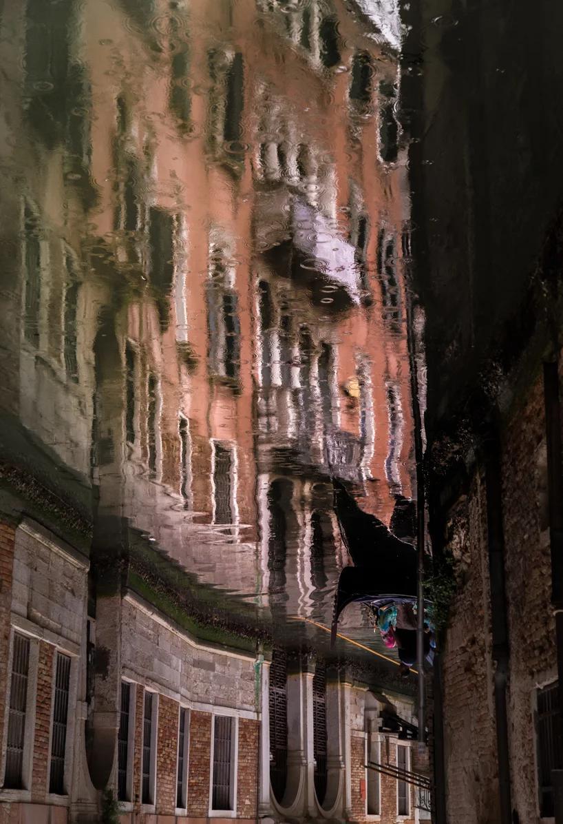 مجموعه عکسهای دنیای منعکس شده از ونیز