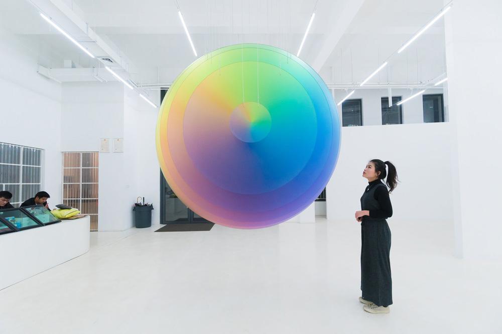 مجسمههای 8 بیتی felipe pantone و نقاشیهای کامپیوتری با الهام از فوتوریسم ایتالیایی