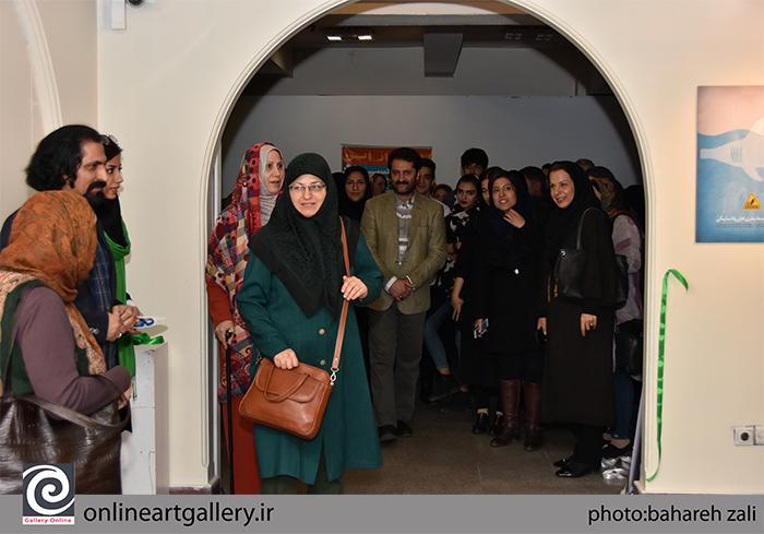 گزارش تصویری بخش نمایشگاهی دومین همایش بین المللی هنرهای تجسمی و محیط زیست با محوریت «هنر بازیافت» در موسسه صبا