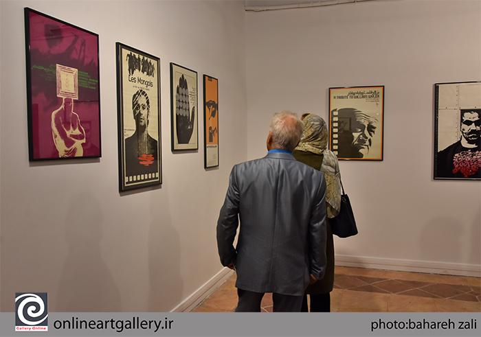 """گزارش تصویری نمایشگاه """"چهاردهمین سالگرد مرتضی ممیز"""" در خانه هنرمندان ایران (بخش دوم)"""