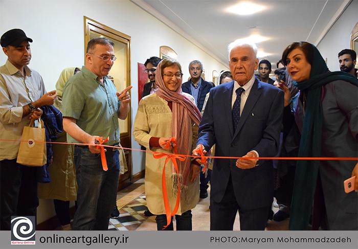 گزارش تصویری نمایشگاه استاد محمد بهرامی در خانه هنرمندان ایران