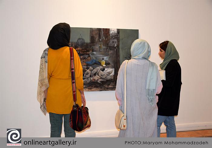 """گزارش تصویری نمایشگاه """"طبیعت بی جان ۱+۱۲"""" در خانه هنرمندان ایران (بخش سوم)"""