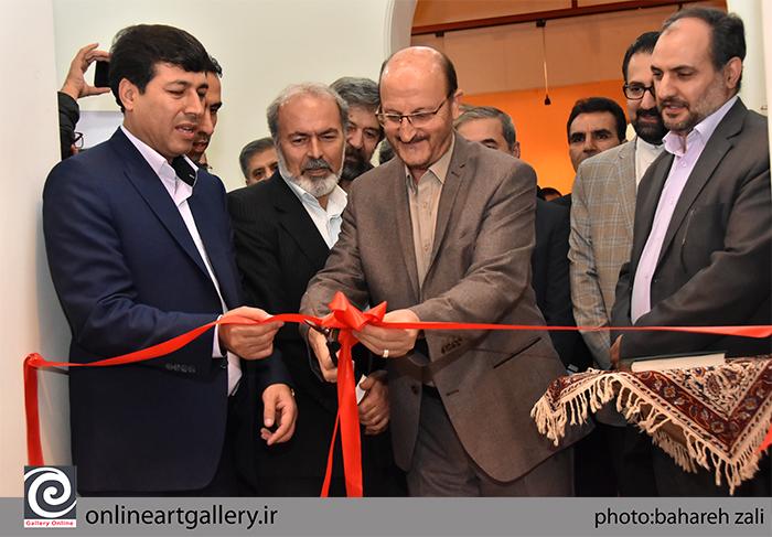 گزارش تصویری نمایشگاه آثار هادی ضیاءالدینی در مؤسسه صبا (بخش اول)