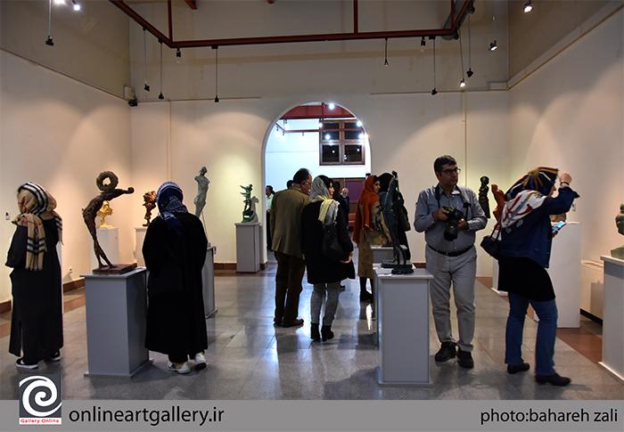 گزارش تصویری نمایشگاه آثار هادی ضیاءالدینی در مؤسسه صبا (بخش سوم)