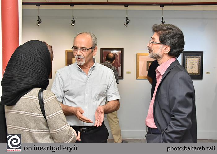 گزارش تصویری نمایشگاه «سماع شکسته» در موسسه صبا (بخش سوم)