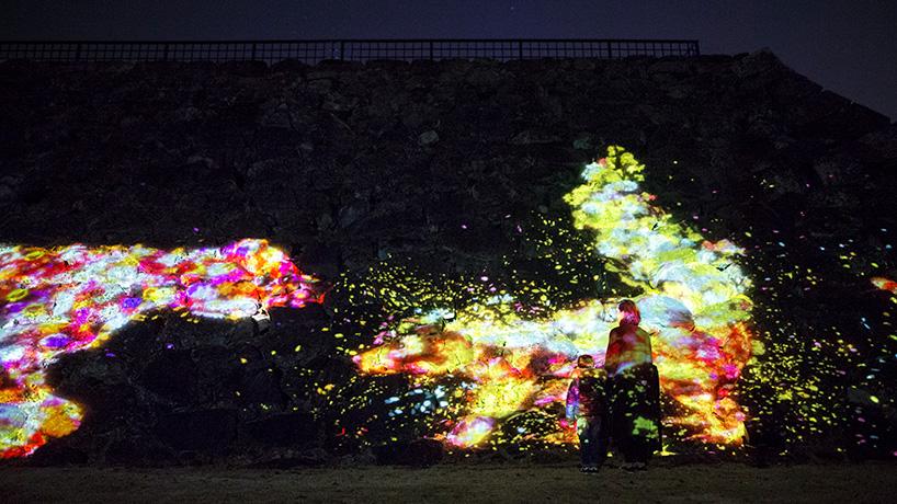 جشنواره نور در قلعه fukuoka ژاپن
