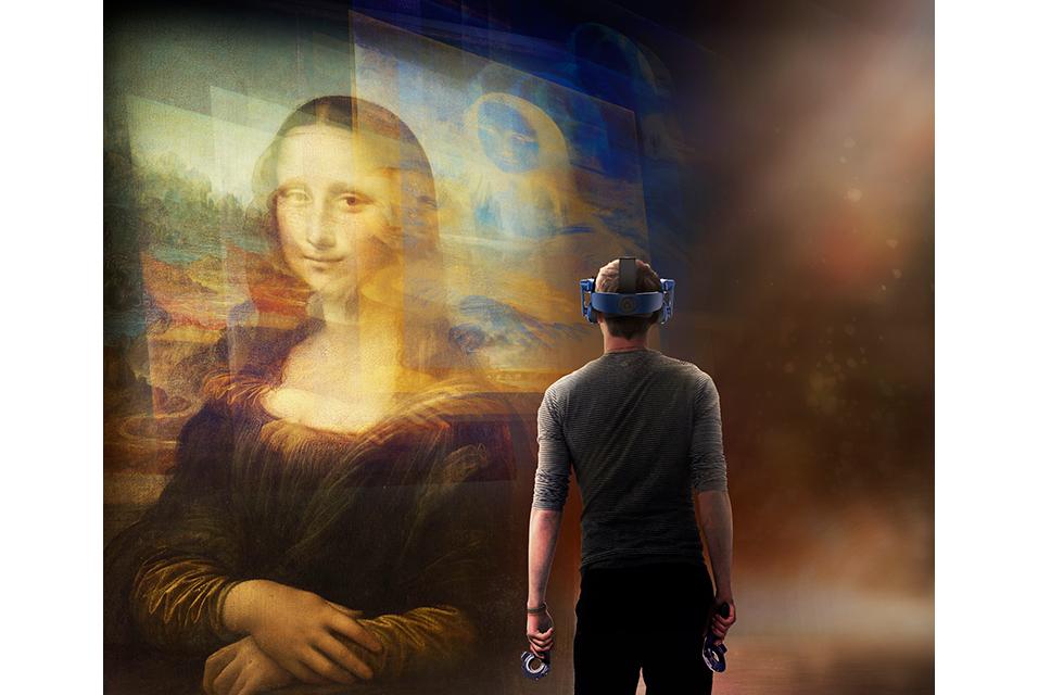 «چشمان تیزبین» لئوناردو داوینچی کلید قدرت جاذبه مونا لیزا