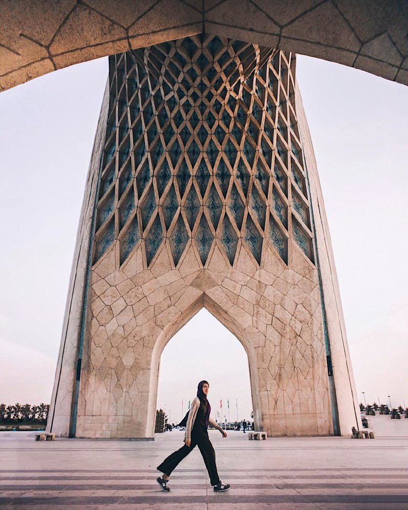 نگاهی به عکسهای Alexandra Pankratova در جاذبههای گردشگری و تاریخی ایران