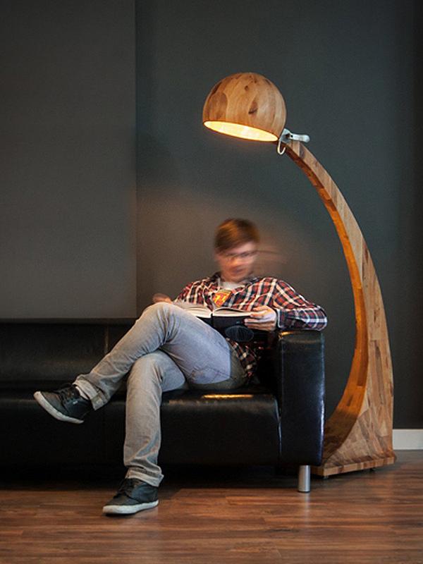 گزارش تصویری طراحی آباژور چوبی