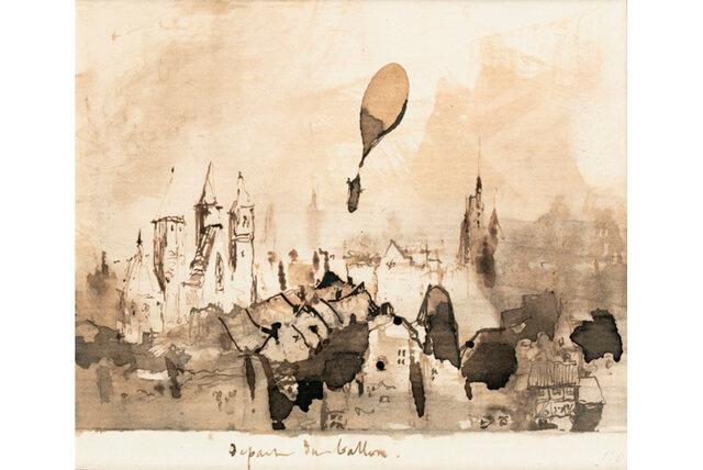 فروش موفق نقاشی «ویکتور هوگو»