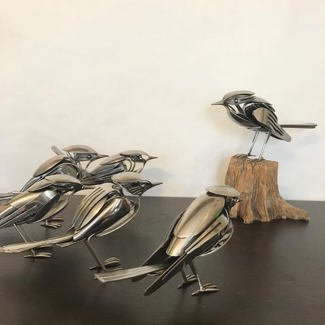 ابزارهای خانگی به مثابه مجسمه
