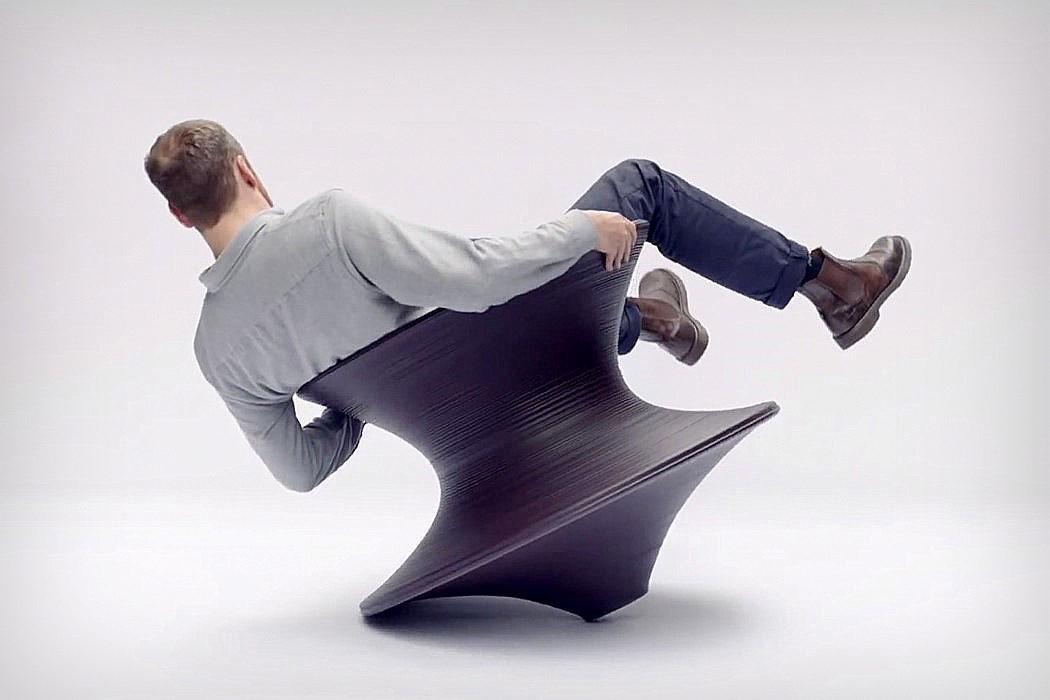 صندلی برآمده از سادهسازی هندسی یک شی