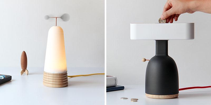 لامپ هایی که نیاز به سکه یا باد برای استفاده دارند