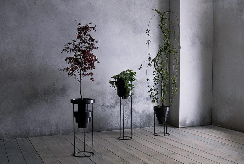 ساخت گلدانهای لایه ای از فولاد ضد زنگ لوله شده