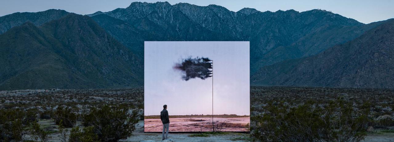 نگاهی به چیدمانهای هنری پروژهی Desert X در کالیفرنیای جنوبی