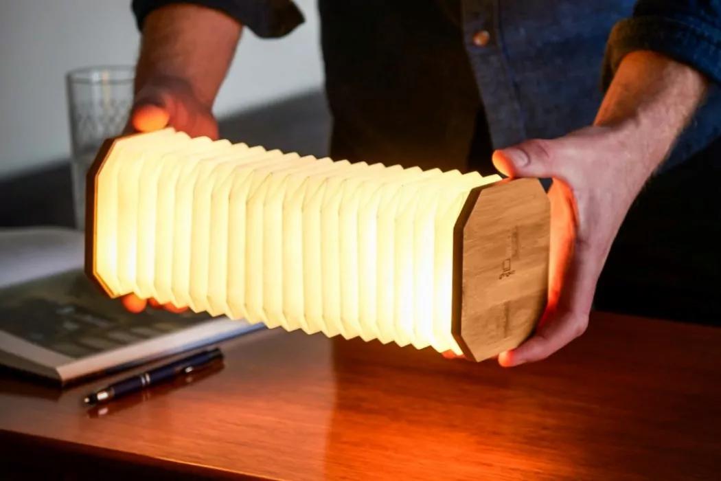 چراغ LED خلاقانه مبتنی بر آکاردئون توسط Gingko Design
