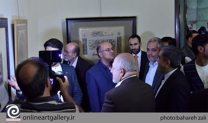 """گزارش تصویری نمایشگاه """"تجلی خط هرات در تهران"""" در موسسه صبا (بخش اول)"""