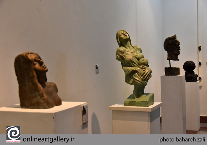 گزارش تصویری نمایشگاه آثار هادی ضیاءالدینی در مؤسسه صبا (بخش چهارم)